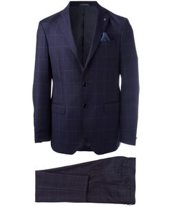Al Duca D'Aosta | 1902 Checked Two Piece Suit Mens Size 50