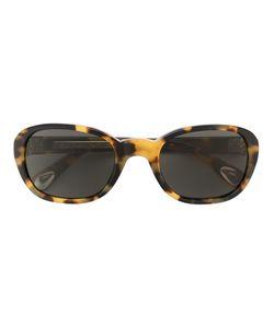 Linda Farrow Gallery   Tortoiseshell Sunglasses Adult Unisex Acetate/Silver