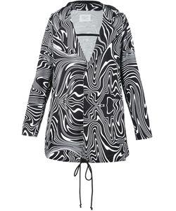 Pigalle | Wave Print Hooded Parka