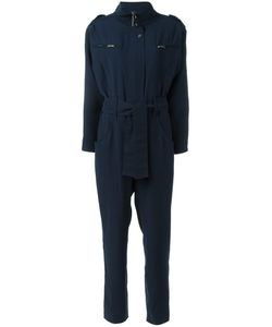 Carolinaritz | High Neck Belted Jumpsuit Womens Size 36 Polyester