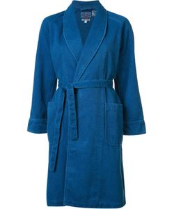 Blue Blue Japan | Shawl Collar Coat Womens Size Medium Cotton