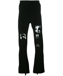 Julius | Fla Jersey Trousers Size 2 Cotton/Polyurethane