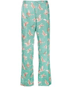 For Restless Sleepers | Zeus Pyjama Trousers Womens Size Xs Silk