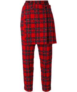 Yohji Yamamoto Vintage | Tartan Skirt Trousers Womens Size 2