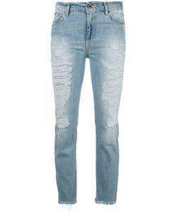 Dondup | Slim-Fit Jeans Womens Size 28 Cotton/Spandex/Elastane
