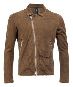 Giorgio Brato   Slim-Fit Biker Jacket Size 54 Leather
