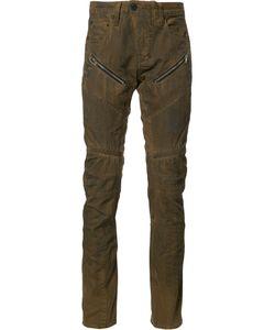 Prps | Zip-Detail Biker Jeans Mens Size 32 Cotton