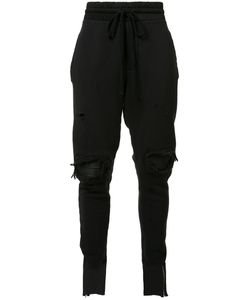 Amiri | Tape Ripped Sweatpants Mens Size Small Cotton