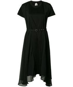Comme Des Garçons Noir Kei Ninomiya | Sheer Asymmetric Dress Womens Size