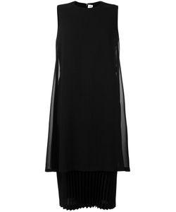 Comme Des Garçons Noir Kei Ninomiya | Pleated Trim Dress Womens Size