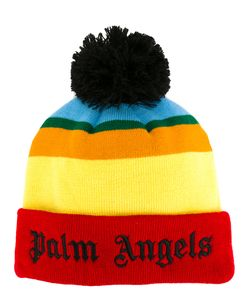 Palm Angels | Striped Beanie Mens Acrylic