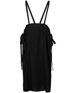 Y's   Suspender Detail Laye Skirt Womens Size 2 Lyocell