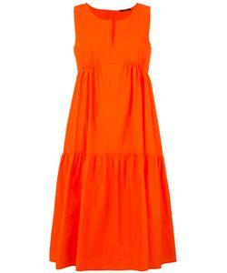 Odeeh | Ruffled Fla Dress Womens Size 34 Cotton