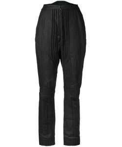 Aganovich | Pleated Pants Womens Size 36 Linen/Flax