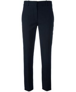 Victoria Beckham | Pinstriped Tailo Trousers Womens Size 6 Cotton/Polyester/Cupro/Wool