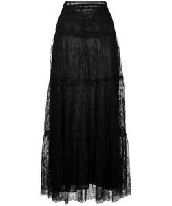 Valentino | Lace Maxi Skirt Womens Size 40 Polyamide/Viscose