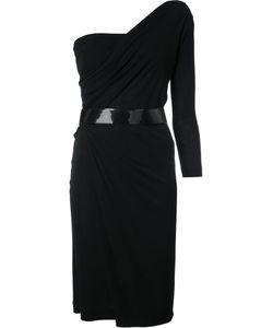 DSquared² | One Shoulder Asymmetric Dress Womens Size Large Viscose/Cotton
