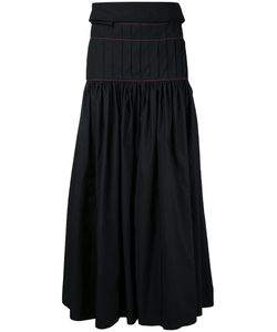 Ellery | Pleated Maxi Skirt Womens Size 8 Polyester
