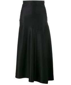 Barbara Casasola | Asymmetric Skirt Womens Size 40 Wool/Silk