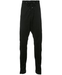 Devoa | Drawstring Track Pants Mens Size 2 Polyester/Cotton