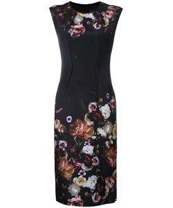 GINGER & SMART | Liaison Fitted Dress Womens Size 12 Silk/Spandex/Elastane/Viscose