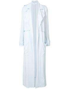 Sally Lapointe | Single-Breasted Coat Womens Size 4 Spandex/Elastane/Viscose