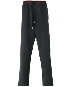 Andrea Pompilio | Elasticated Waistband Sweatpants Mens Size 50 Virgin Wool/Cotton/Polyester