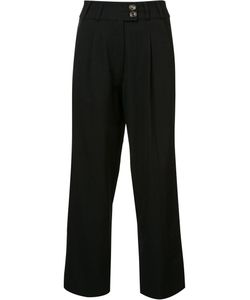 Song For The Mute | High-Waisted Cropped Trousers Womens Size 34