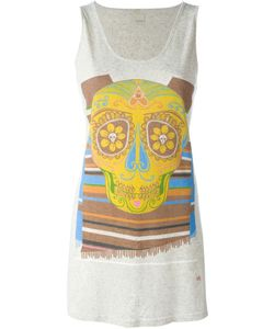 +People | Stripe Cinco De Mayo Skull Print Tank Top