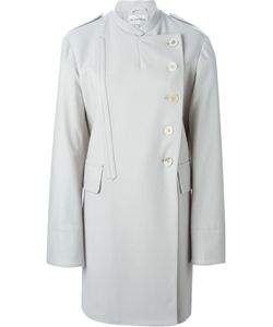 Ann Demeulemeester Blanche   Double Breasted Military Coat