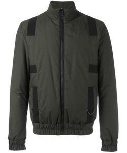 Letasca   Elasticated Cuffs Zipped Jacket Mens Size Medium Polyester