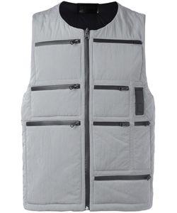 Letasca   Zipper Detailing Gilet Mens Size Medium Polyester
