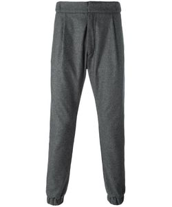 Letasca   Buttoned Track Pants Mens Size Large Wool