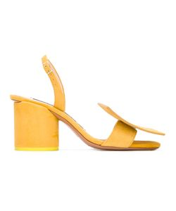 Jacquemus   Chunky Heel Sandal Womens Size 40 Leather/Suede