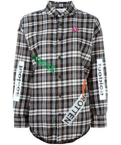 Sold Out Frvr | Multiple Prints Plaid Shirt Womens Size Medium