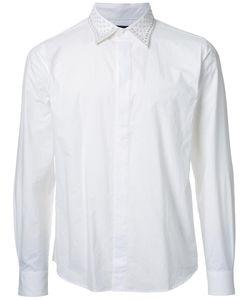 Taakk | Studded Neck Shirt Mens Size 2 Cotton