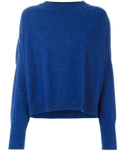 Dusan   Round Neck Chunky Jumper Womens Size Small Cashmere