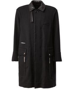 The Soloist | Leather Collar Coat