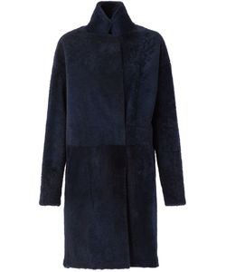 32 Paradis Sprung Frères | Reversible Coat With A High Standing Collar