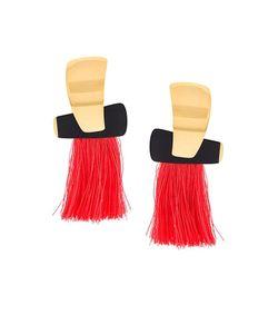Lizzie Fortunato Jewels   Totem Tassel Earrings Womens