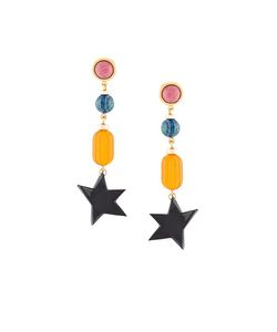 Lizzie Fortunato Jewels   Retro Holiday Earrings Womens