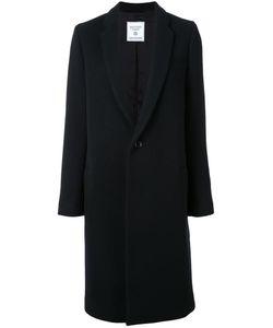Fad Three | Single Breasted Coat Womens Size Small Cupro/Wool/Nylon/Cotton