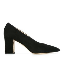 Bionda Castana | Dries Grid Pumps Womens Size 39 Suede/Leather