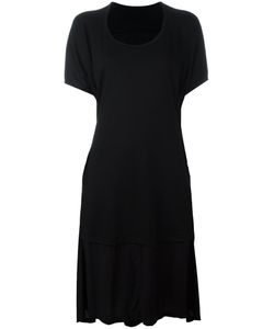 Y's   Shortsleeved T-Shirt Dress Womens Size Small Wool/Rayon