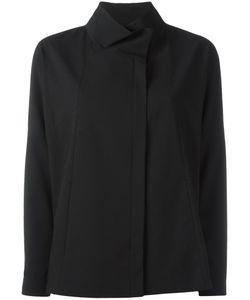 Demoo Parkchoonmoo | Funnel Neck Jacket Womens Size 40 Polyester/Polyurethane/Rayon