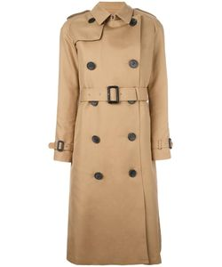 The Reracs | Double Breasted Coat Womens Size Ii Cotton/Polyester/Silk/Cupro