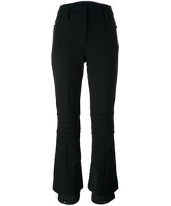 Moncler Grenoble | Flared Trousers Womens Size Small Polyamide/Nylon/Viscose/Spandex/Elastane