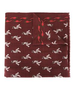 Fefè   All-Over Print Scarf Adult Unisex Wool