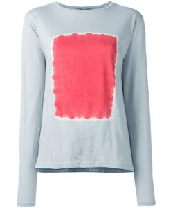Suzusan | Square Print Jumper Womens Size Medium Cotton/Cashmere