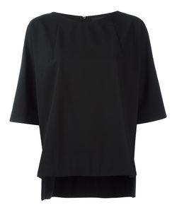Demoo Parkchoonmoo | Boat Neck Top Womens Size 38 Polyester/Wool/Rayon/Polyurethane